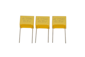 Metallized Polyester Film-Capacitor (Non-Inductive)-MEC