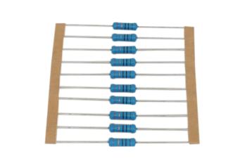 塗裝型精密金屬膜電阻-MFR